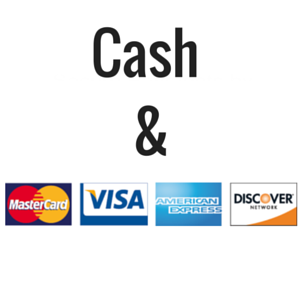 cash and card